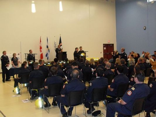 HRM Volunteer Firefighters Graduation